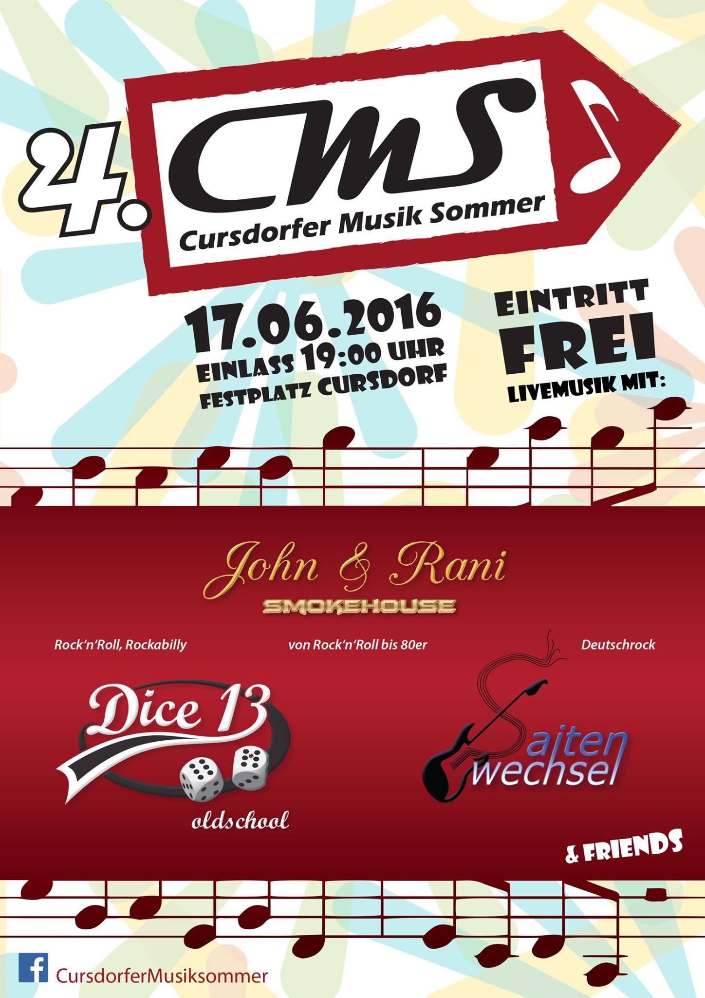 Cursdorfer Musik Sommer